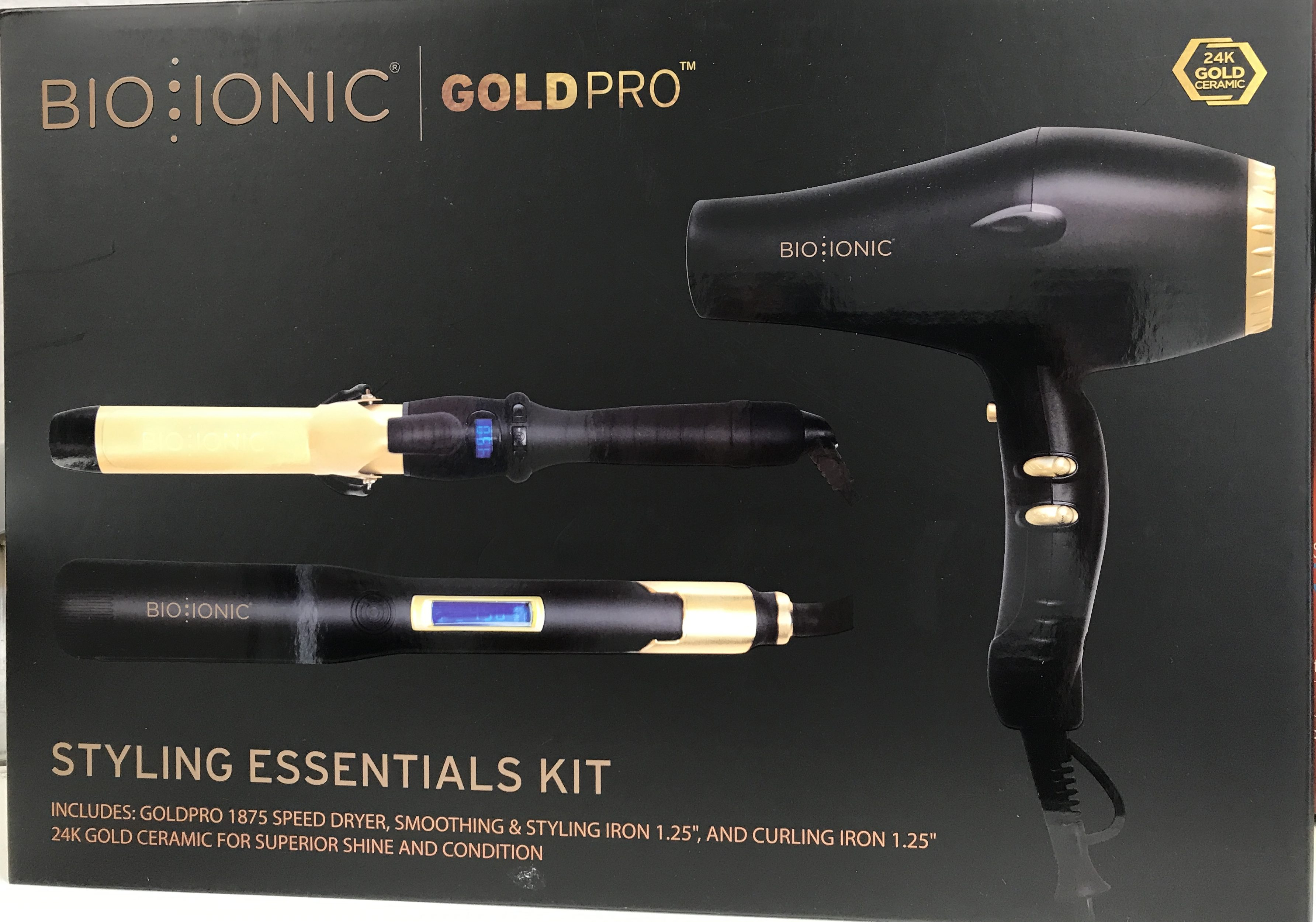 Bio Ionic Goldpro Styling Essentials Kit Welcome To